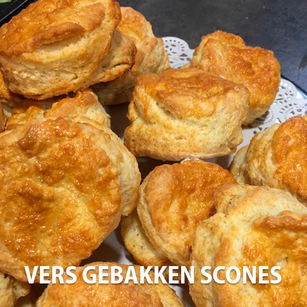 scones vers gebakken